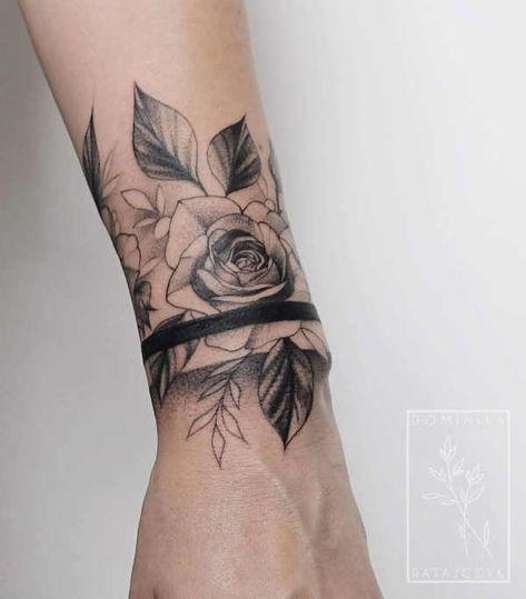 Tatuaż armband – znaczenie, symbolika, 100 zdjęć, Pomysły na tatuaże