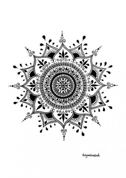 Photo of Trendy Tattoo Mandala Simple Patterns 30 Ideas