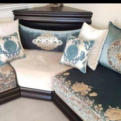 صالون مغربي عصري 2019 اضغط على الصورة للمزيد Moroccan Living Room Living Room Decor Colors Modern Furniture Living Room