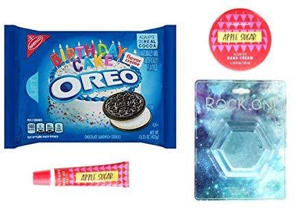 Surprising Birthday Cake Oreos Cookies Chocolate Sandwich Cookies Jewel Bath Personalised Birthday Cards Vishlily Jamesorg