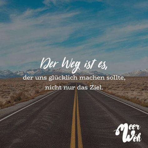 Het is de manier om ons gelukkig te maken niet alleen de bestemming  ##Reisen#Abenteuer