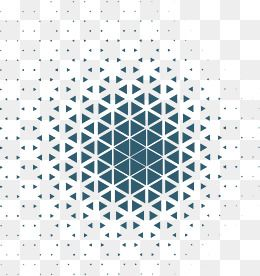 2019 的 Business Blue Triangular Pattern, Vector Png, Geometric