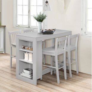 Birch Lane Heritage Allister Solid Wood Dining Table Small