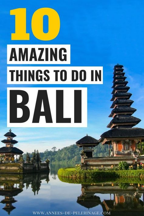 A picture perfect list of the 10 best things to do in Bali, Indonesia. When to go, where to stay and what to see in Bali - this Bali travel guide will show you all the top tourist attractions and points of interest in Bali. Click for more. #Bali #Indonesia #travel #travelguide #asia #wanderlust #bucketlist