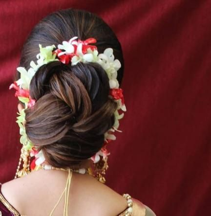 19 Ideas For Hair Styles Indian Wedding Low Buns Hairdo Wedding Wedding Low Buns Bun Hairstyles