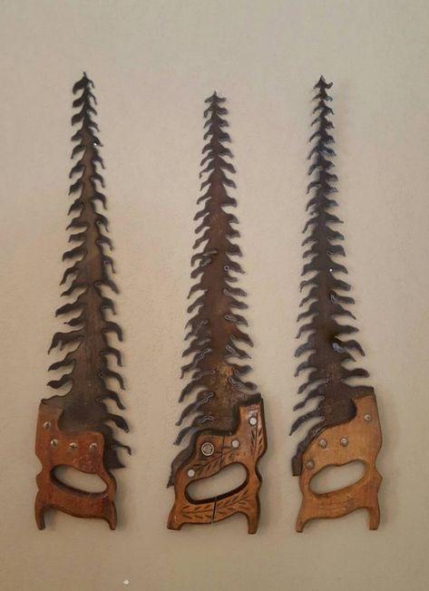 Welding Art Projects, Metal Art Projects, Metal Crafts, Metal Yard Art, Scrap Metal Art, Rustic Christmas, Christmas Crafts, Sculpture Metal, Old Tools