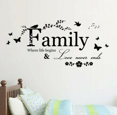 Wall Sticker Lettering Art Words For Wedding Decoration Living