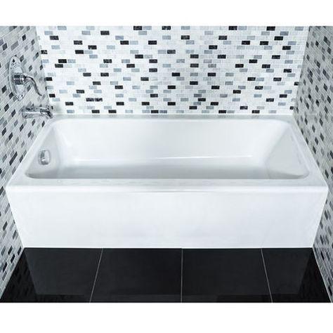 Evolution II Bathtub With Integral Apron   American Standard   Product  Details   Bath   Pinterest   American Standard, Bathtubs And Tubs