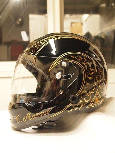 Nomad Concept カスタムペイントノマドコンセプト カスタムヘルメット カスタムペイント ヘルメット ペイント