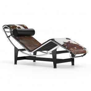 Lc4 Chaise Longue Brown Pony In 2020 Chaise Longue Le Corbusier Corbusier Furniture