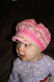 Free crochet baby cap pattern on ravelry crochet away pinterest free crocheted brimmed hat pattern you can turn this into a strawberry shortcake hat dt1010fo
