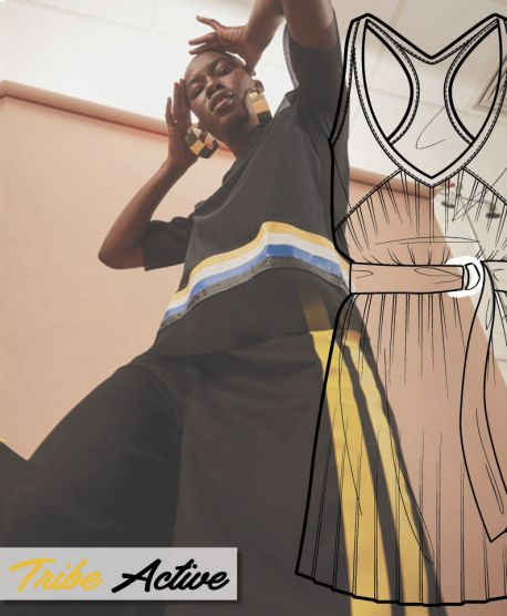 Discover the new FW 2018-19 fashion development designs for TRIBE ACTIVE Macro theme.