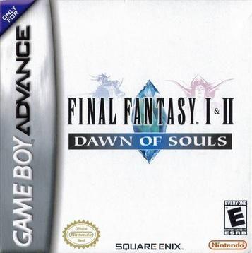 Final Fantasy 1 2 Dawn Of Souls Nintendo Game Boy Advance