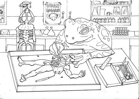 Awesome Weird Coloring Books Contemporary - Style and Ideas ...