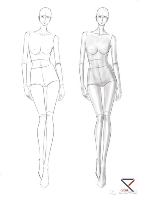 Health Insurance Red Girl Blog In 2020 Fashion Illustration Template Fashion Figure Drawing Fashion Model Drawing