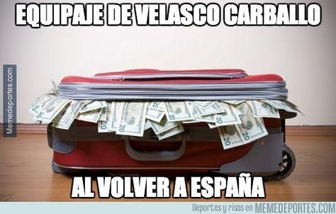 354107 - Éste es el equipaje de Velasco Carballo