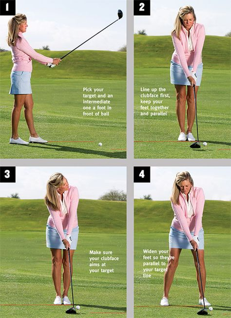 Expert Golf Tips For Beginners Of The Game. Golf is enjoyed by many worldwide, and it is not a sport that is limited to one particular age group. Not many things can beat being out on a golf course o Golf Putting Tips, Best Golf Clubs, Girls Golf Clubs, Golf Videos, Golf Instruction, Golf Exercises, Workouts, Golf Tips For Beginners, Perfect Golf
