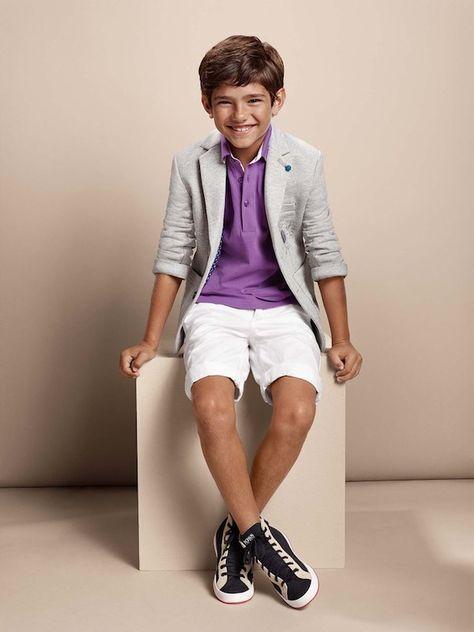 boss kidswear boys ss15 jacket purple shirt