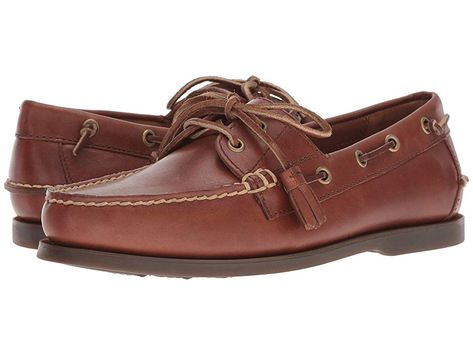 0ee8d2603d Get on the boat deck and sail in style with these handsome Polo Ralph  Lauren Merton boat shoes. Two-toned leather boat shoes. Lace-up front ...