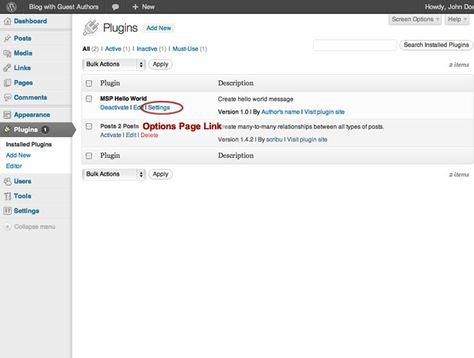 Building Your First WordPress Plugin (Part 3)   Webdesigner Depot