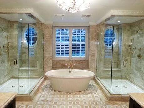 Bathroom With His And Hers Vanity Bathroom Studio M Interior Design Inc Bathroom Counter Storage Bathrooms Remodel Bathroom Remodel Master