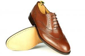 Wiosna Lato 2019 Krolewski Herb Dress Shoes Men Dress Shoes Oxford Shoes