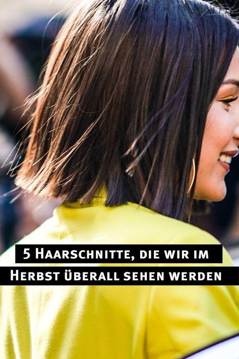 5 Haarschnitte, die wir im Herbst 2018 überall sehen werden #haare #haarschnitt #haarschnitte #herbst #trend #trending