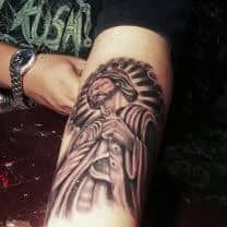 San Judas Tadeo Tattoo Design