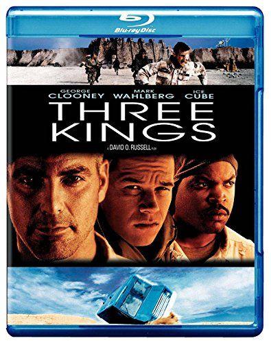 Three Kings Blu Ray 1999 Region Free Kings Movie Three