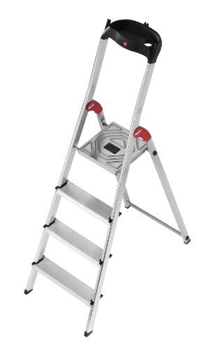 Hailo 8504 001 L60 Model 225 Pound Capacity Ansi Certified Aluminum Ladder 5 Foot With Images Aluminium Ladder Step Ladders Ladder