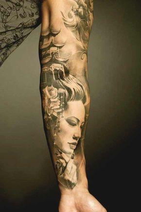 Seleção Das Tatuagens De Gueixas Mais Bonitas E Criativas Da