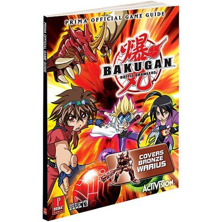 Toys Game Guide Bakugan Battle Brawlers Battle