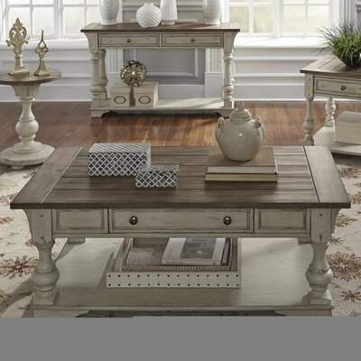 Kelly Clarkson Home Belle Meade Solid Wood Coffee Table With