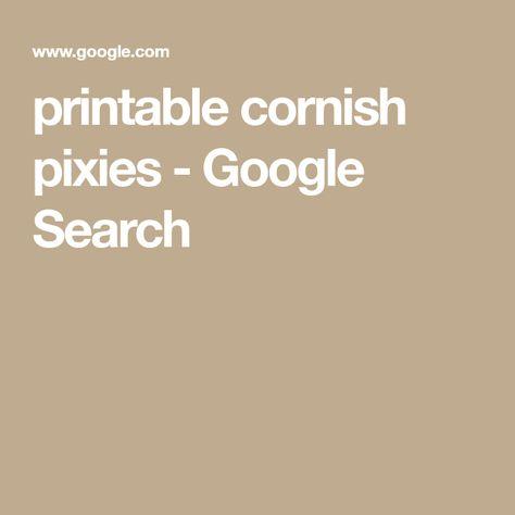 image relating to Printable Cornish Pixies titled Checklist of cornish pixie printable pics and cornish pixie