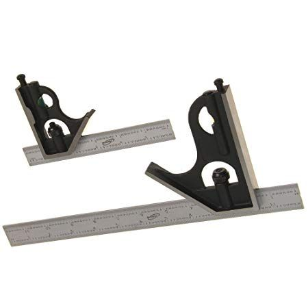 Igaging Combination Square Set 6 12 4r Steel Blade High Precision Amazon Com Igaging Rafter Square High Precision