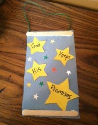 This free Bible craft for kids, based on Genesis will remind children that God always does what He promises. It can be used in a homeschool setting, one-on-one, or in a classroom setting like Sunday School.