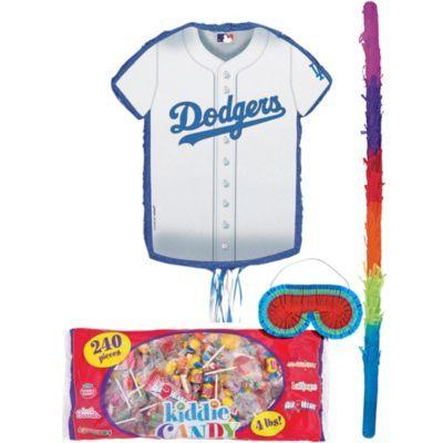 Halloween Bikes Los Angeles 2020 Los Angeles Dodgers Pinata Kit in 2020 | Kids party supplies, Los