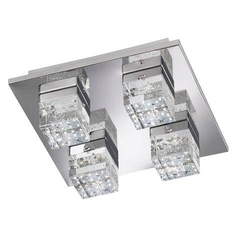Wofi LED-Deckenleuchte Liv 1-flammig 44 W EEK A Jetzt bestellen - badezimmer led deckenleuchte ip44