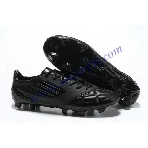 14134175901 Cheap adidas F50 adizero TRX FG Leather Micoach Bundle Shoes Black Black  For Wholesale