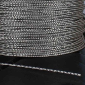 Lamp Parts Lighting Parts Chandelier Parts 500ft Spool 1 16in Diameter Stainless Steel Wire Rope For Use With Suspension System Sgwr500 In 2020 Stainless Steel Wire Lamp Parts Lighting Parts