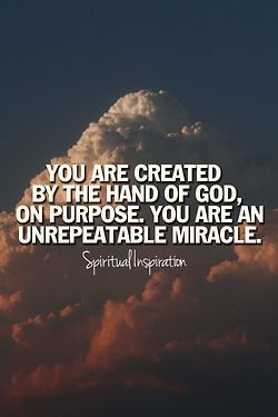 spiritualinspiration: Did you know that God was thinking about you