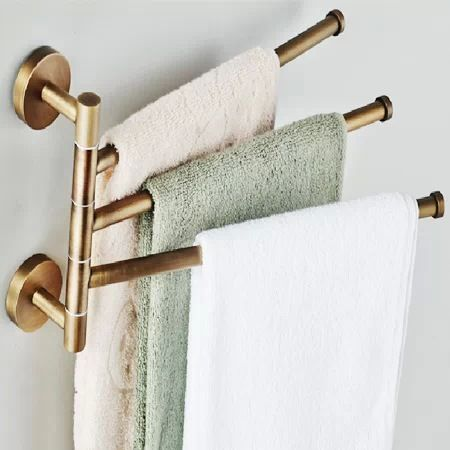 Fashionable Bathroom Towel Racks Brushed Nickel That Will Impress You Towel Rack Towel Hanger Towel Rack Bathroom