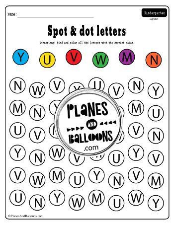 Spot And Dot Letter Worksheets Free Printable Alphabet Pdf Letter Recognition Worksheets Dot Letters Alphabet Worksheets Free Free kindergarten letter recognition