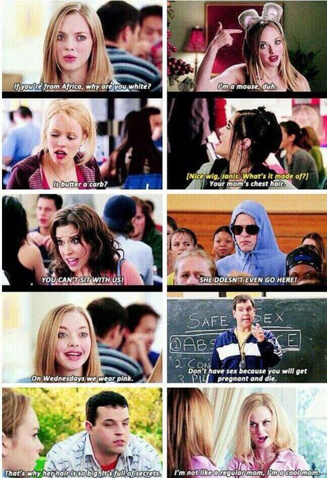 Mean Girls quotes that you'll never forget on We Heart It