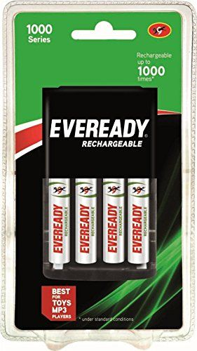 Eveready Rechargeable Rechargeable Batteries Recharge Household Batteries