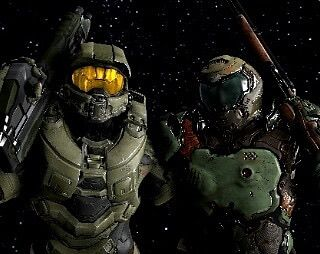 John 117 On Instagram If Master Chief And Doomguy Were Friends