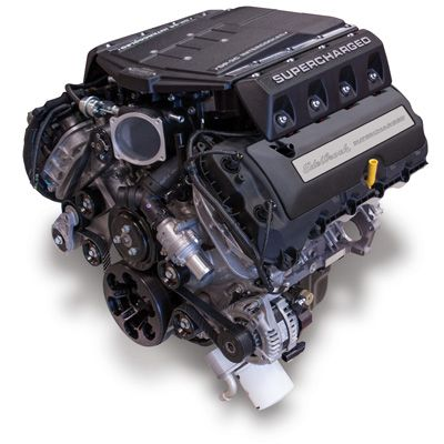 Edelbrock - Crate Engines - Ford 50L Coyote - Supercharged 50L - best of jegs blueprint crate engines