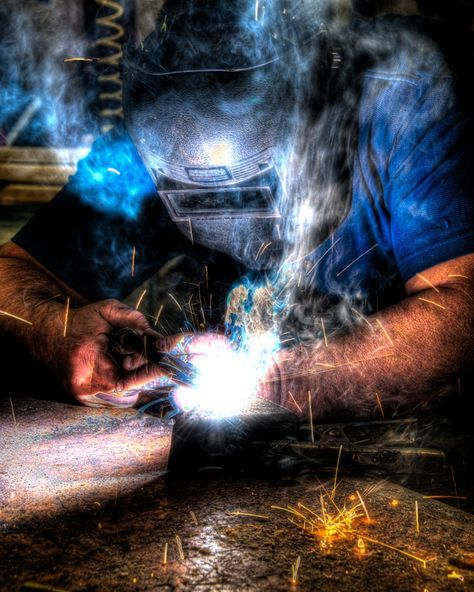 I miss the smell, touch, sight and everything else about welding!