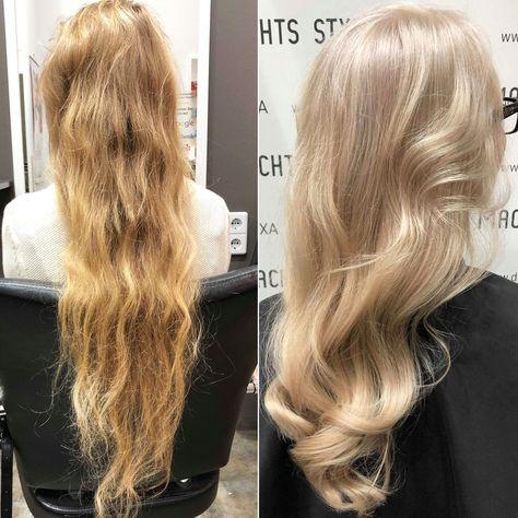 Frisuren bilder vorher nachher