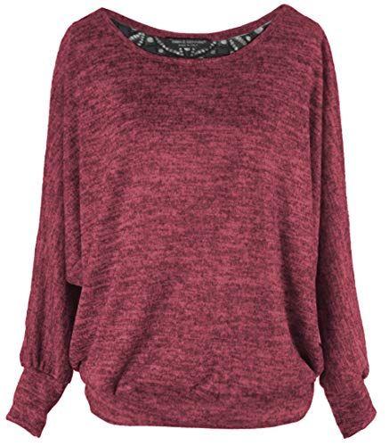 Emma /& Giovanni Damen Basic Langarmshirt//Pullover